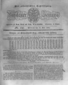 Breslauer Zeitung. 1831.05.11 Nr109