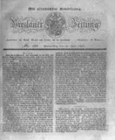 Breslauer Zeitung. 1831.07.21 Nr168