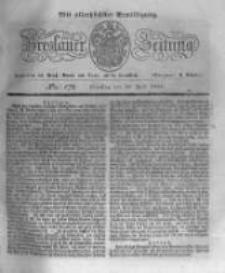 Breslauer Zeitung. 1831.07.26 Nr172