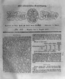 Breslauer Zeitung. 1831.08.01 Nr177