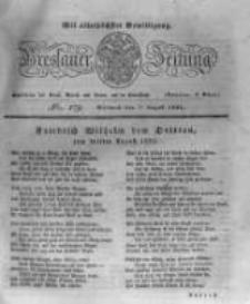 Breslauer Zeitung. 1831.08.03 Nr179
