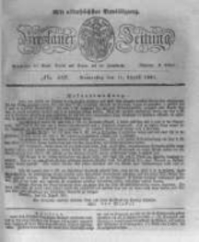 Breslauer Zeitung. 1831.08.11 Nr186