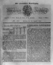 Breslauer Zeitung. 1831.08.12 Nr187