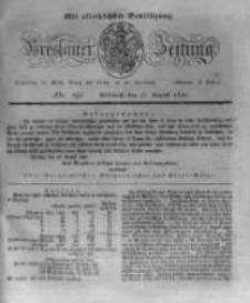 Breslauer Zeitung. 1831.08.17 Nr191