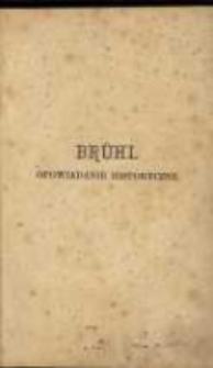 Brühl: opowiadanie historyczne przez J. I. Kraszewskiego. T. 1