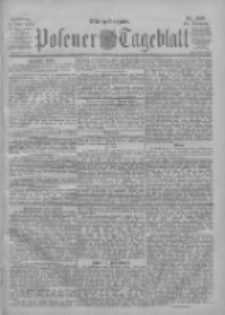 Posener Tageblatt 1901.06.04 Jg.40 Nr256
