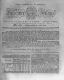 Breslauer Zeitung. 1831.06.22 Nr143