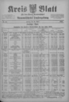 Kreis Blatt für den Kreis Neutomischeler zugleich Hopfenzeitung 1902.04.25 Nr32