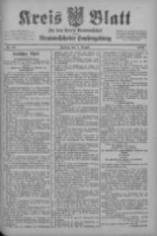 Kreis Blatt für den Kreis Neutomischeler zugleich Hopfenzeitung 1902.08.08 Nr62