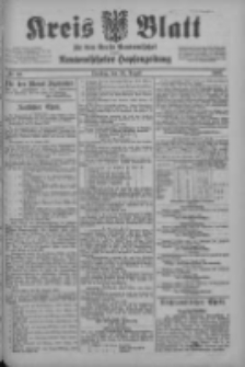 Kreis Blatt für den Kreis Neutomischeler zugleich Hopfenzeitung 1902.08.26 Nr66