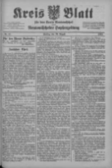Kreis Blatt für den Kreis Neutomischeler zugleich Hopfenzeitung 1902.08.29 Nr67