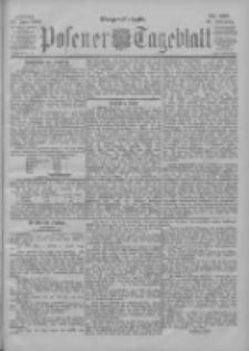 Posener Tageblatt 1901.06.28 Jg.40 Nr297