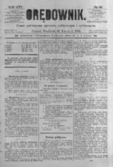 Orędownik: pismo poświęcone sprawom politycznym i spółecznym. 1886.04.25 R.16 nr95