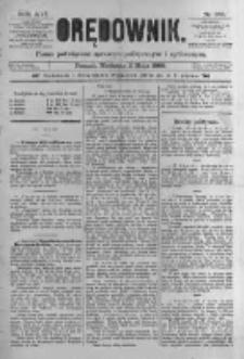 Orędownik: pismo poświęcone sprawom politycznym i spółecznym. 1886.05.02 R.16 nr100