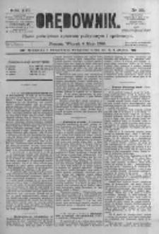 Orędownik: pismo poświęcone sprawom politycznym i spółecznym. 1886.05.04 R.16 nr101