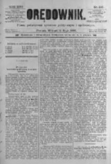 Orędownik: pismo poświęcone sprawom politycznym i spółecznym. 1886.05.11 R.16 nr106
