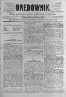 Orędownik: pismo poświęcone sprawom politycznym i spółecznym. 1886.05.12 R.16 nr107
