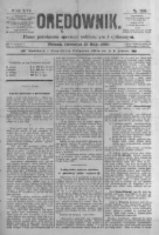 Orędownik: pismo poświęcone sprawom politycznym i spółecznym. 1886.05.13 R.16 nr108