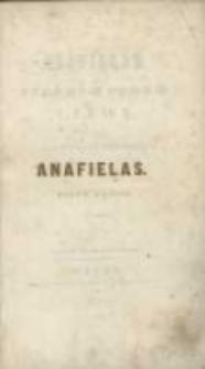 Anafielas: pieśni z podań Litwy. Pieśń 2. [Mindows] przez J. I. Kraszewskiego