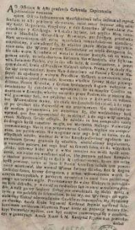 [Remanifest Wojewodztw Poznanskiego i Kaliskiego na Manifest Małopolskiey prowincyi w rokoszu będącey. Dan w Jarocinie 17 III 1698]