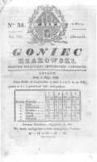 Goniec Krakowski: dziennik polityczny, historyczny i literacki. 1830.05.06 nr54