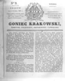 Goniec Krakowski: dziennik polityczny, historyczny i literacki. 1831.01.04 nr2