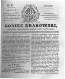 Goniec Krakowski: dziennik polityczny, historyczny i literacki. 1831.01.13 nr9