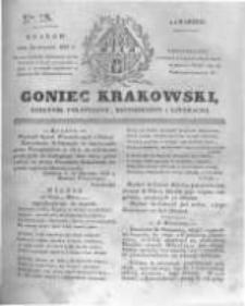 Goniec Krakowski: dziennik polityczny, historyczny i literacki. 1831.01.20 nr15