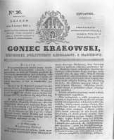 Goniec Krakowski: dziennik polityczny, liberalny i naukowy. 1831.02.03 nr26