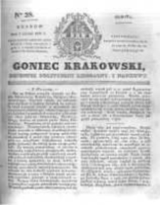 Goniec Krakowski: dziennik polityczny, liberalny i naukowy. 1831.02.05 nr28