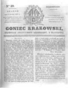 Goniec Krakowski: dziennik polityczny, liberalny i naukowy. 1831.02.07 nr29
