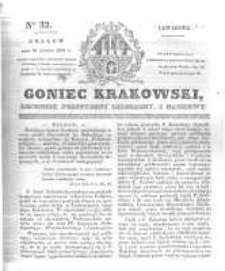 Goniec Krakowski: dziennik polityczny, liberalny i naukowy. 1831.02.10 nr32