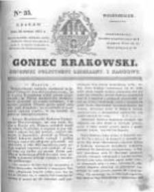 Goniec Krakowski: dziennik polityczny, liberalny i naukowy. 1831.02.14 nr35