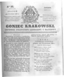 Goniec Krakowski: dziennik polityczny, liberalny i naukowy. 1831.02.15 nr36