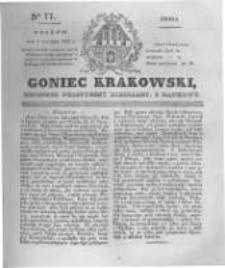 Goniec Krakowski: dziennik polityczny, liberalny i naukowy. 1831.04.06 nr77