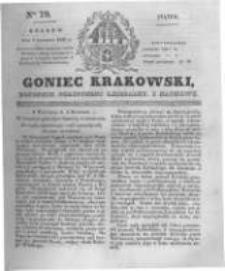 Goniec Krakowski: dziennik polityczny, liberalny i naukowy. 1831.04.08 nr79