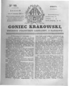 Goniec Krakowski: dziennik polityczny, liberalny i naukowy. 1831.04.09 nr80