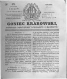 Goniec Krakowski: dziennik polityczny, liberalny i naukowy. 1831.04.12 nr82