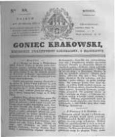 Goniec Krakowski: dziennik polityczny, liberalny i naukowy. 1831.04.19 nr88