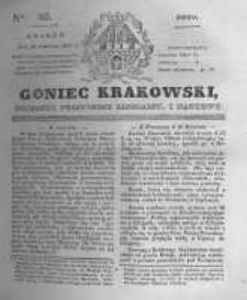 Goniec Krakowski: dziennik polityczny, liberalny i naukowy. 1831.04.20 nr89