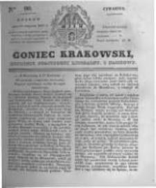 Goniec Krakowski: dziennik polityczny, liberalny i naukowy. 1831.04.21 nr90