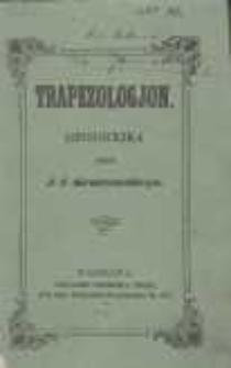 Trapezologjon: historyjka przez J. I. Kraszewskiego