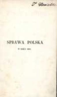 Sprawa polska w roku 1861: list z kraju (listopad 1861)