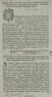 Głos I. W. Im. P. Ruperta z Skrzynna Dunina Stolnika Orłow. Posła Wdztwa Łęczyc. na Sessyi Seymowej Dnia 8. Aprilis, 1775 Anno, w Senacie miany