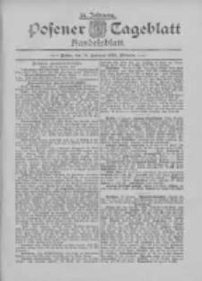 Posener Tageblatt. Handelsblatt 1895.01.15 Jg.34
