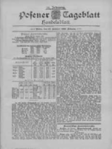 Posener Tageblatt. Handelsblatt 1895.01.25 Jg.34