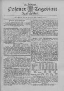 Posener Tageblatt. Handelsblatt 1895.01.26 Jg.34