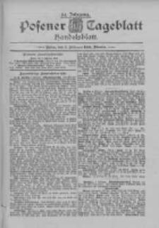 Posener Tageblatt. Handelsblatt 1895.02.05 Jg.34