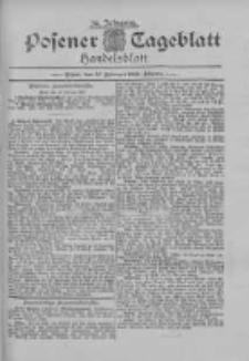 Posener Tageblatt. Handelsblatt 1895.02.12 Jg.34