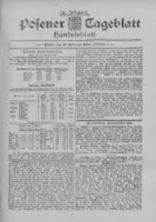 Posener Tageblatt. Handelsblatt 1895.02.13 Jg.34